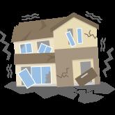 地震イラストイメージ